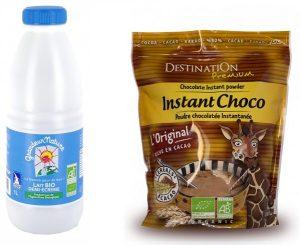 lait choco